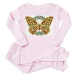 Celtic Butterfly Toddler Pink Pajamas