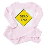 Dead End Sign Toddler Pink Pajamas