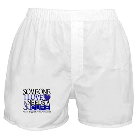 Needs A Cure ALS T-Shirts & Gifts Boxer Shorts