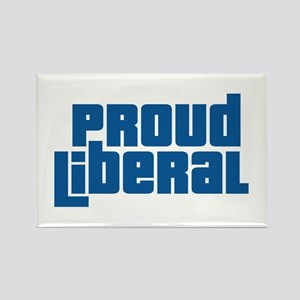 Proud Liberal Rectangle Magnet