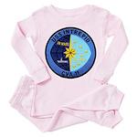 USS INTREPID Toddler Pink Pajamas
