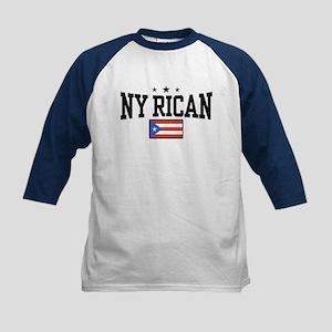 NY Rican Kids Baseball Jersey