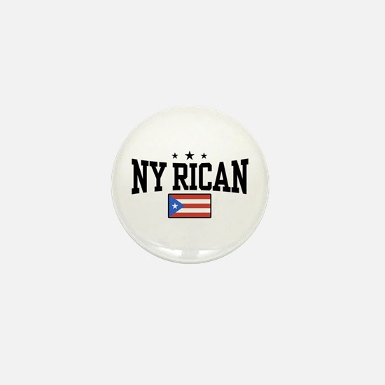 NY Rican Mini Button