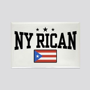 NY Rican Rectangle Magnet