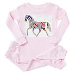 My Rainbow Horse Toddler Pink Pajamas
