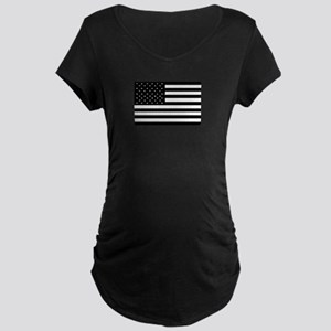 Black Flags Maternity Dark T-Shirt