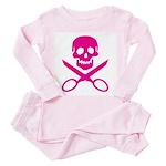 Fuchsia Jolly Cropper Toddler Pink Pajamas