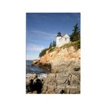 Bass Harbor Lighthouse Rectangle Magnet (10 pack)