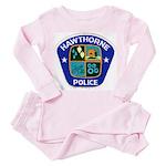 Hawthorne Police Toddler Pink Pajamas