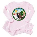 Take Off1/2 Labs(cho/blk) Toddler Pink Pajamas