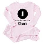 J Church (Classic) Toddler Pink Pajamas