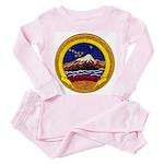 USS KISKA Toddler Pink Pajamas
