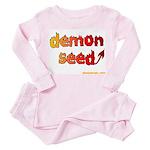 demon seed Toddler Pink Pajamas