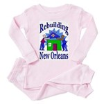 Rebuilding New Orleans Toddler Pink Pajamas