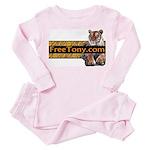 Free Tony The Tiger Toddler Pink Pajamas