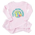 Captiva Flip Flops - Toddler Pink Pajamas