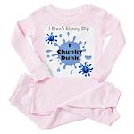 Chunky Dunk Toddler Pink Pajamas