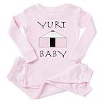 Yurt Baby Toddler Pink Pajamas