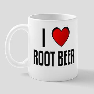 I LOVE ROOT BEER Mug