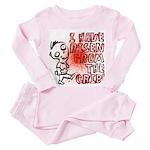 Ten Little Zombies: The Toddler Pink Pajamas