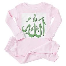 Allah Toddler Pink Pajamas