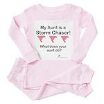 Pink Tornado Infant Wear Toddler Pink Pajamas