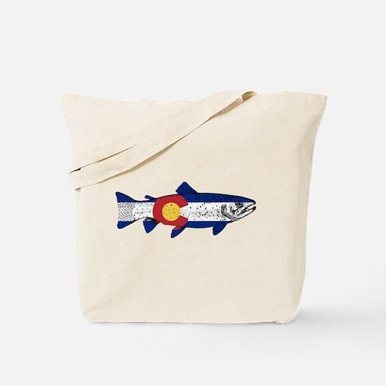 Fish Colorado Tote Bag