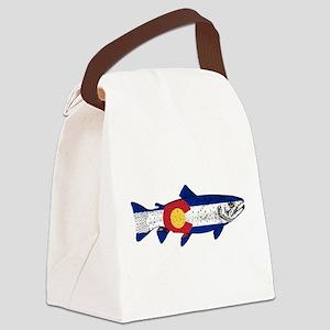 Fish Colorado Canvas Lunch Bag