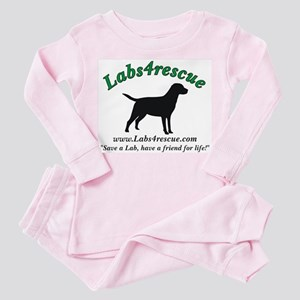 Labs4rescue Toddler Pink Pajamas (3 colors)