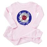 Mod Target Vintage Dragon Toddler Pink Pajamas