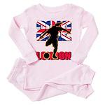 Soccer 2012 London Toddler Pink Pajamas