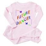 Future Dancer Kids Toddler Pink Pajamas