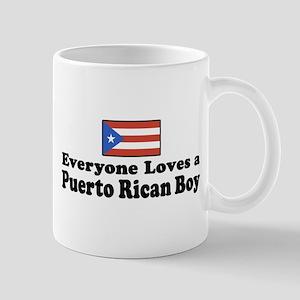 Puerto Rican Boy Mug