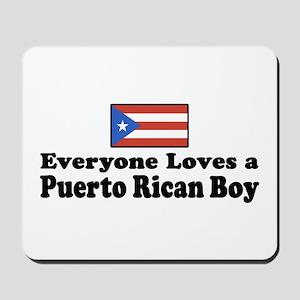 Puerto Rican Boy Mousepad