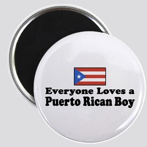 Puerto Rican Boy Magnet