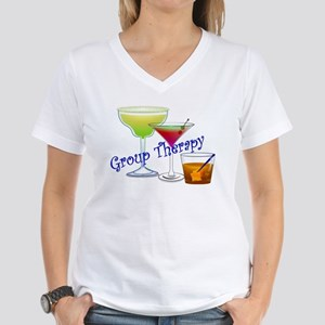 Group Therapy 2 Women's V-Neck T-Shirt