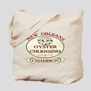 Oyster Eating Champion Tote Bag