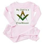 Masonic My Dad is a Freemason Toddler T-Sh