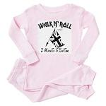 2 minutes To Bedtime Toddler Pink Pajamas
