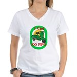 Motor Scooter Women's V-Neck T-Shirt