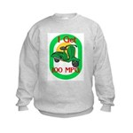 Motor Scooter Kids Sweatshirt