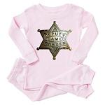 Deputy Game Warden Toddler Pink Pajamas