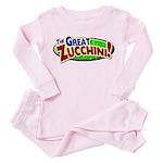 Zucchini Logo Pink Pajamas