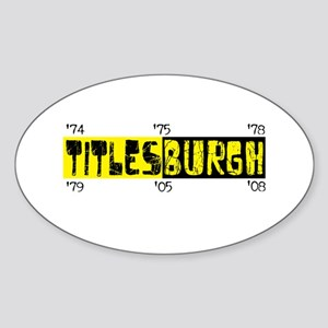 Titlesburgh (Pittsburgh) Oval Sticker