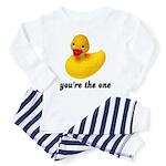 Rubber Duckie Toddler Pajamas