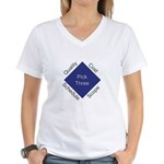 QCSS Women's V-Neck T-Shirt