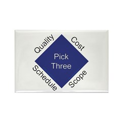 QCSS Rectangle Magnet (100 pack)