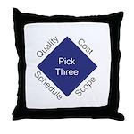 QCSS Throw Pillow