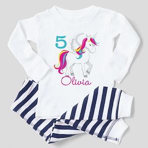 Unicorn Birthday Toddler Pajamas