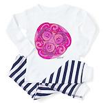Celtic Rose TriSpiral Toddler Pajamas